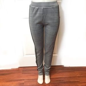 Stretch Houndstooth pant with plush lining